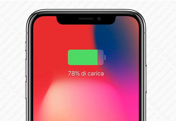 iphone x batteria