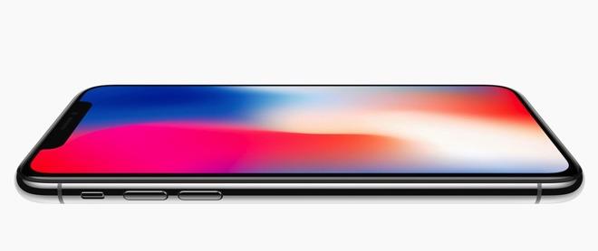 iphone x display borderless