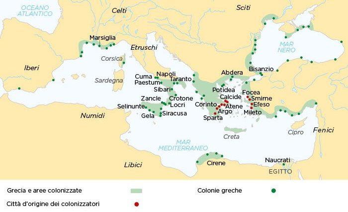 perché i greci fondarono le colonie