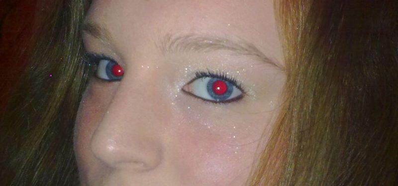 effetto occhi rossi nelle foto