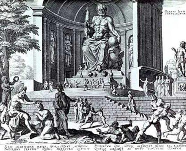 statua di zeus