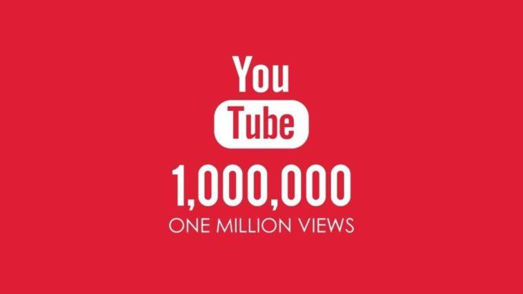 youtube 1 milione di visualizzazioni