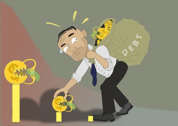 non pagare debiti