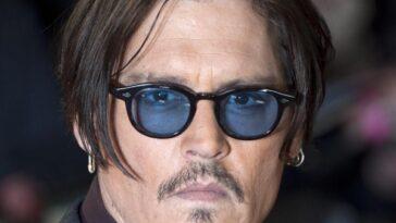 johnny depp occhiali